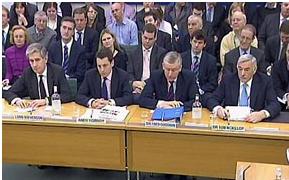 Bankers in Treasury Committee