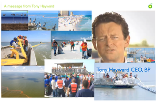 A message from Tony Hayward